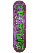 Creature Gang Sign Purple Deck  8.375 x 32
