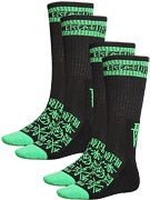 Creature Hesh Crue Socks 2 Pack
