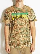 Creature Logo Camo T-Shirt