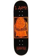 Creature Larb Komp Orange Deck  8.5 x 32.25