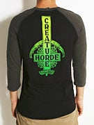 Creature Ride Til You Die 3/4 Sleeve Raglan Shirt