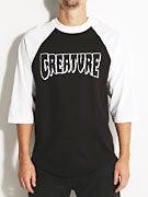 Creature Rev Logo 3/4 Sleeve Raglan Shirt