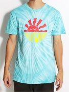 Chocolate California Tie Dye T-Shirt