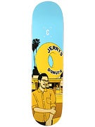 Chocolate Hsu City Series Deck  8x31.5