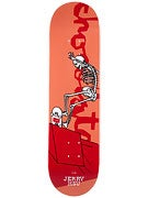 Chocolate Hsu Day of the Shred Deck  8.125 x 31.3