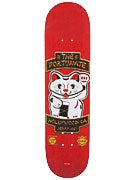 Chocolate Hsu Rider Patch Deck  8.0 x 31.5