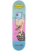 Chocolate Johnson Jer And MJ Deck  8.125 x 31.3