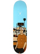 Chocolate Perez City Series Deck  8.25x32