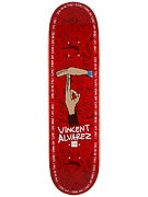 Chocolate Alvarez Trunk Boyz Deck  8.25x32
