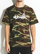 Cliche Handwritten Camo T-Shirt