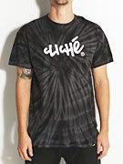 Cliche Handwritten Tie Dye T-Shirt
