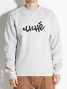 Cliche Handwritten Classic Crew Sweat
