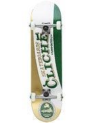 Cliche Imported White/Green Complete 8.0 x 31.5