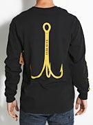 Dark Seas Treble Hook L/S Pocket T-Shirt