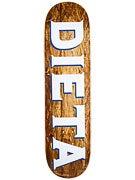 Dieta Woodgrain Logo Brown Deck  8.25 x 32