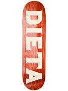 Dieta Woodgrain Red Deck  8.5 x 32
