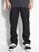 DC Straight Worker Pants  Black