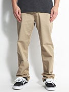 DC Straight Worker Pants  Khaki