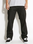 DC Worker Relaxed Jeans  Black Rinse