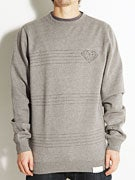 Diamond Striped Crew Sweatshirt