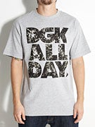 DGK All Day Bleached T-Shirt