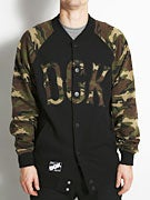 DGK Detention Snap Fleece  Camo
