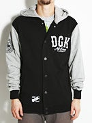 DGK Dropout Letterman Fleece Jacket