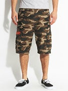DGK Fat Tip Cargo Shorts  Army Camo