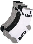 DGK Haters 7 Crew Socks 3 Pack