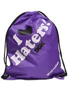 DGK Haters Cinch Bag Purple