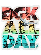 DGK Jamaica All Day Sticker