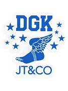 DGK Infinity JT&CO Sticker Blue