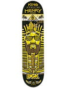 DGK King Henry Black Deck  7.9 x 32