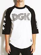 DGK Movement 3/4 Sleeve Raglan Shirt