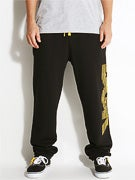 DGK Movement Fleece Pants Black/Yellow