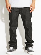 DGK Peak 3 Jeans  Black Raw