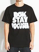 DGK Stay Focused T-Shirt