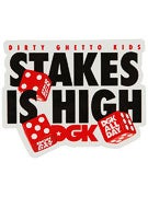 DGK Stakes Is High Sticker