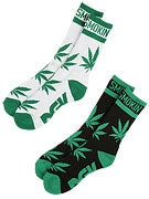 DGK Stay Smokin Socks 2 Pack