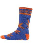 DGK Stay Smokin' Crew Socks Blue/Orange