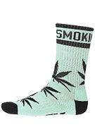 DGK Stay Smokin' Crew Socks Mint/Black