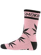 DGK Stay Smokin' Crew Socks Pink/Black