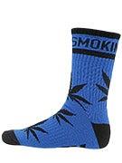 DGK Stay Smokin' Crew Socks Royal/Black