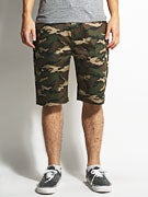 DGK Working Man 3 Chino Shorts  Woodland Camo
