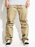 DGK Working Man 3 Chino Pants  Khaki