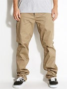 DGK Working Man 5 Chino Pants  Khaki