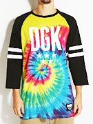 DGK Worldwide 3/4 Sleeve Raglan Shirt