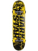 Darkstar Splatter Mid Yellow Complete  7.3 x 28.75