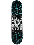 Darkstar Crack Aqua Deck  7.75 x 31.2