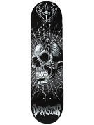 Darkstar Entrance Spider Grey Deck  8.25 x 31.5